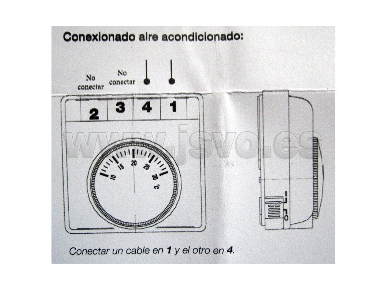 Termostato de temperatura ambiente js venta online - Termostato de ambiente ...