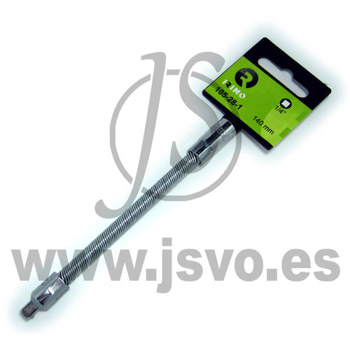 "Irimo 105-28-1 Alargadera 1/4"" flexible 140 mm"