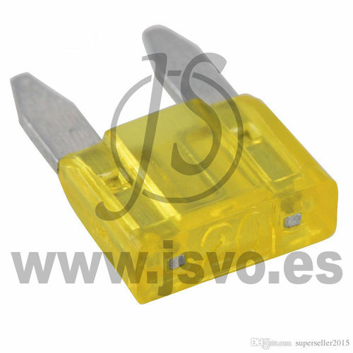 Fusible MINI 20A Amarillo Electro dh 06.187/20